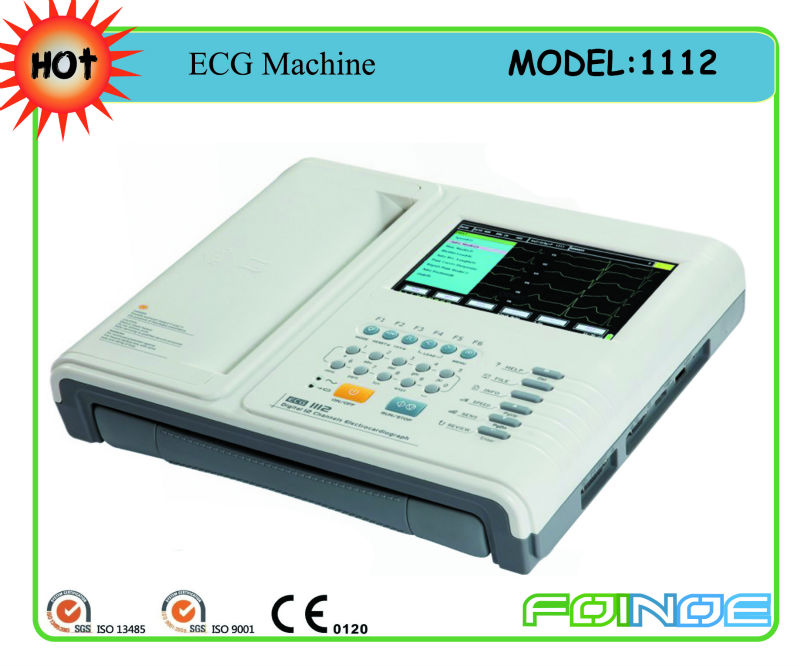Best Price For12 Channel ECG(1112L)
