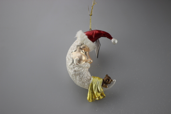 meniscus figurine hanging for christmas decoration