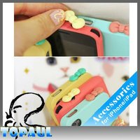 Lovely bow anti dustproof plug cover for cell phone