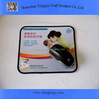 Best sell digital sublimation rubber adult mouse pad
