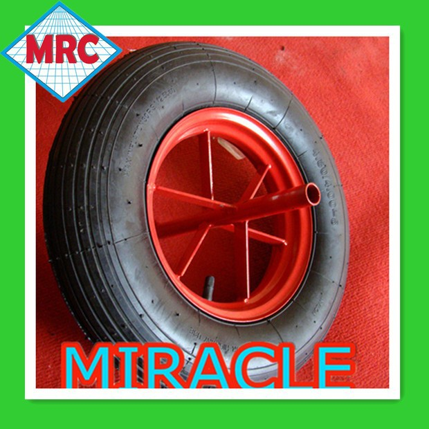 "13"" MRC Inflat Rubber Wheel / Small Wheel for Carts 3.50-8"