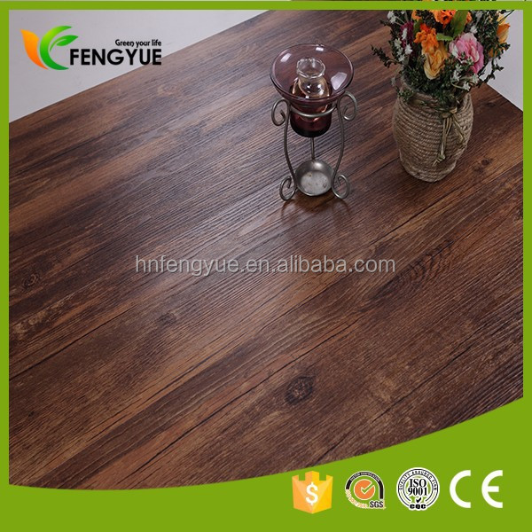 Low Price Interlocking Rubber PVC floor tile