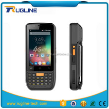 Rugged PDA portable data terminal mobile computer 4G LTE android 6.0 handheld device with barcode scanner