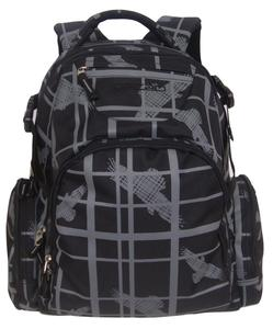 high quality back to school fashion sports backpack with wolf paws laser printing
