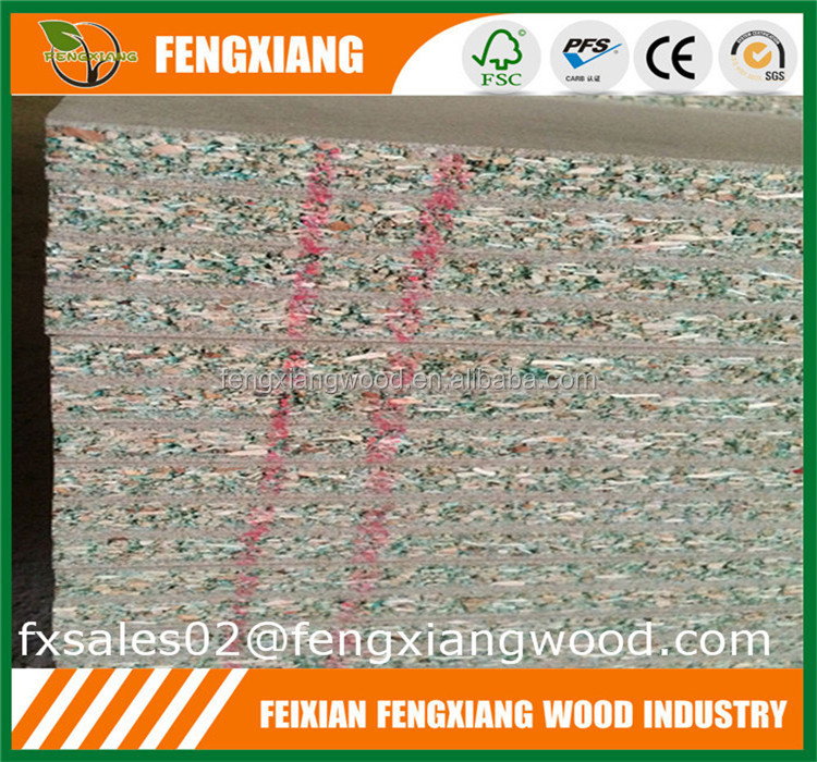 Highly Moisture Resistant Particle Board/Green Chipboard