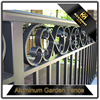 Outdoor Powder Coated Black Aluminum Fence for Garden
