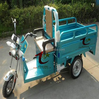 High quality strong power 3 wheel electric cargo tricycle