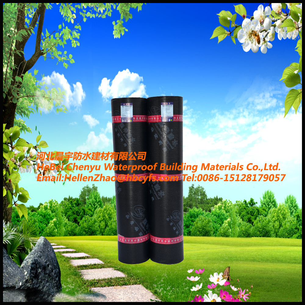 China factory building construction material emulsion bitumen roll of felt