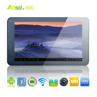 dropshipping tablet android sale game console tablet dual camera hdmi dual core 4gb touch screen V88