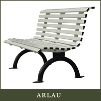 New design heavy duty cast iron garden bench with high quality