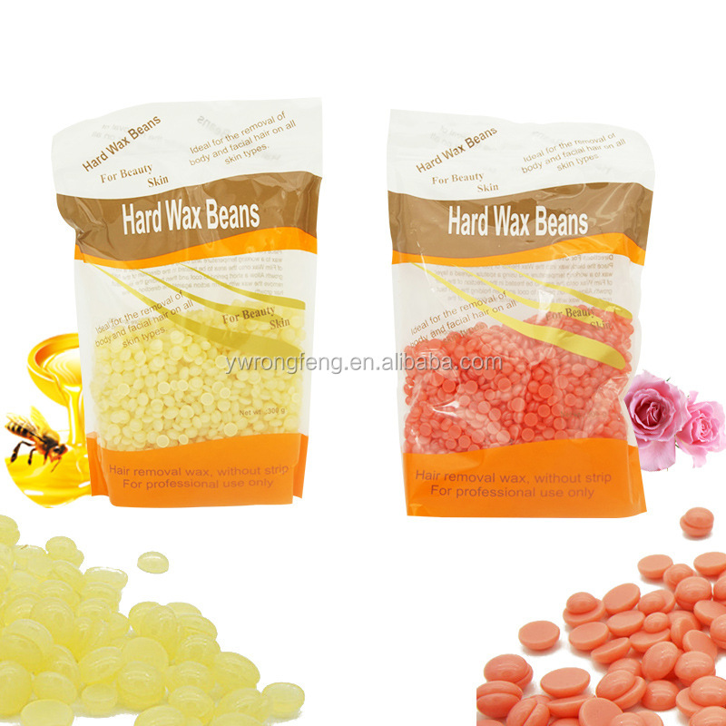 2017 Hot Sell 300g Hair Removal Beads Hard Wax Beans For beauty Skin