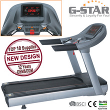 GS-258 LIFE Fitness Deluxe Commercial Treadmill With TV