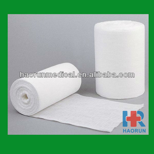 surgical absorbent 100% cotton gauze roll 36' x 100 yards 4ply