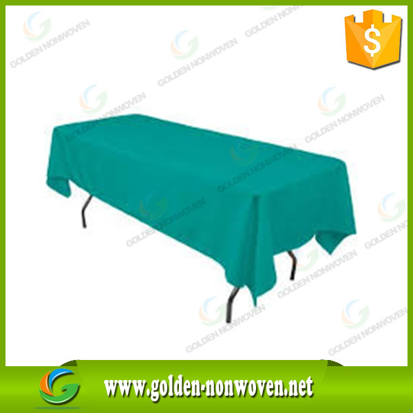 PP pre-cut spunbond nonwoven table cloth/PP Non woven Fabric Disposable Table Cloth/1m x 1m non-woven table cover