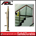 Aisi frameless glass balustrade staircases openning well frameless glass handrails