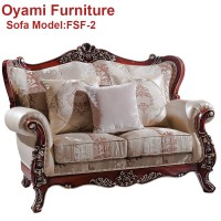 Classic italian provincial luxury wood carving sofa furniture