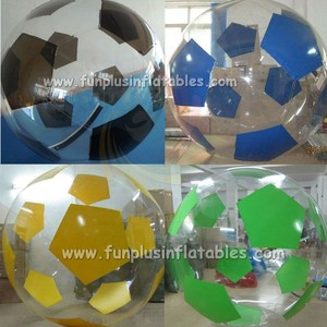 football shape large inflatable water ball F7035