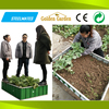 2016 new product metal structure garden raised bed