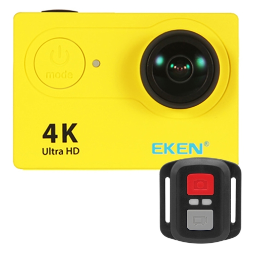 chinese supplier EKEN H9R Ultra HD SPCA6350 2.0 inch LCD 170 Degree Remote Control Waterproof Case Sunplus 4K WiFi Sport <strong>Camera</strong>