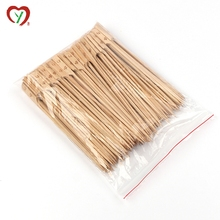 100% natural bamboo roasting skewer stick