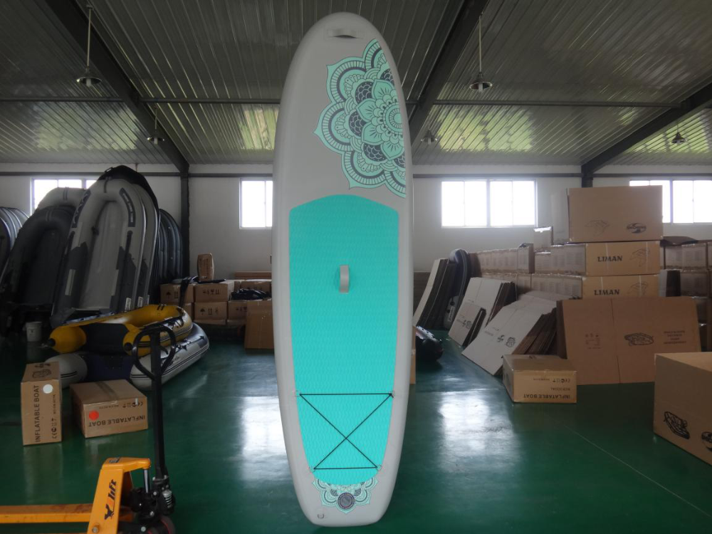 Different colour pvc floating water paddle boards