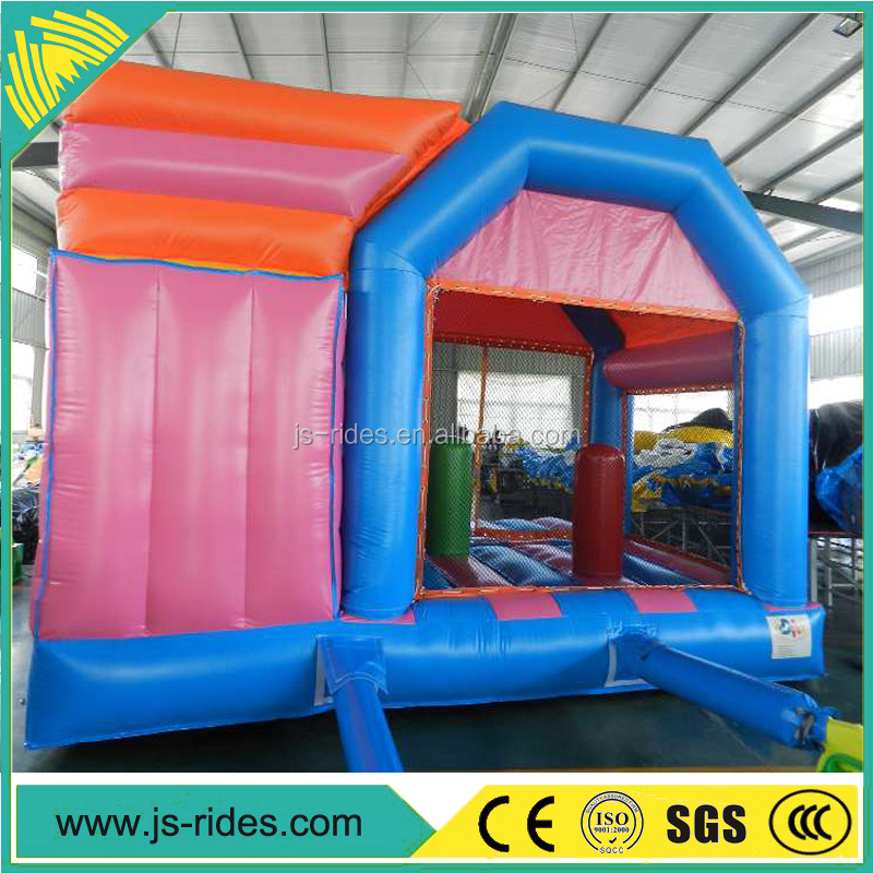 2017 Customized Inflatable Castle Bounce House inflatable with Slide