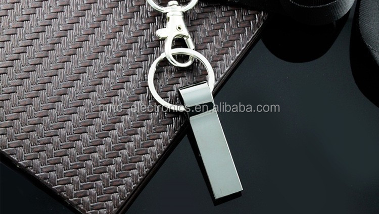 2016 Hot selling stainless steel metal USB 3.0 fast speed custom engrave logo 8GB keychain usb flash thumb drive pen stick