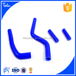 Racing car high temperature silicone hose kits for YAMAHA YZ125 SILICONE RADIATOR HOSE KIT 03-08