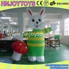 Commercial giant inflatable rabbit animated animal mating cartoon for advertising
