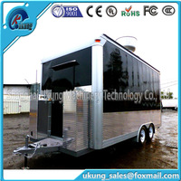 Street Fashion,Customers Favorite Electric Dining Car/mobile Food Truck For Sale