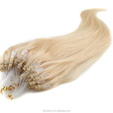 0.5g/strands #613 light Color Micro Loop Ring/Beads Hair Extensions 100strands/pack