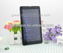 3G sim card android tablet 7 inch MTK6577 dual core 1.2GHZ 3G ultra slim tablet pc with phone call
