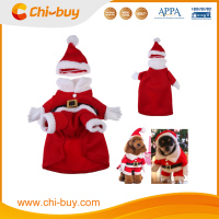 Chi-buy Christmas Polar Fleece Christmas Clothes&Santa Hat Pet Clothes Dog Clothes For Autumn & Winter
