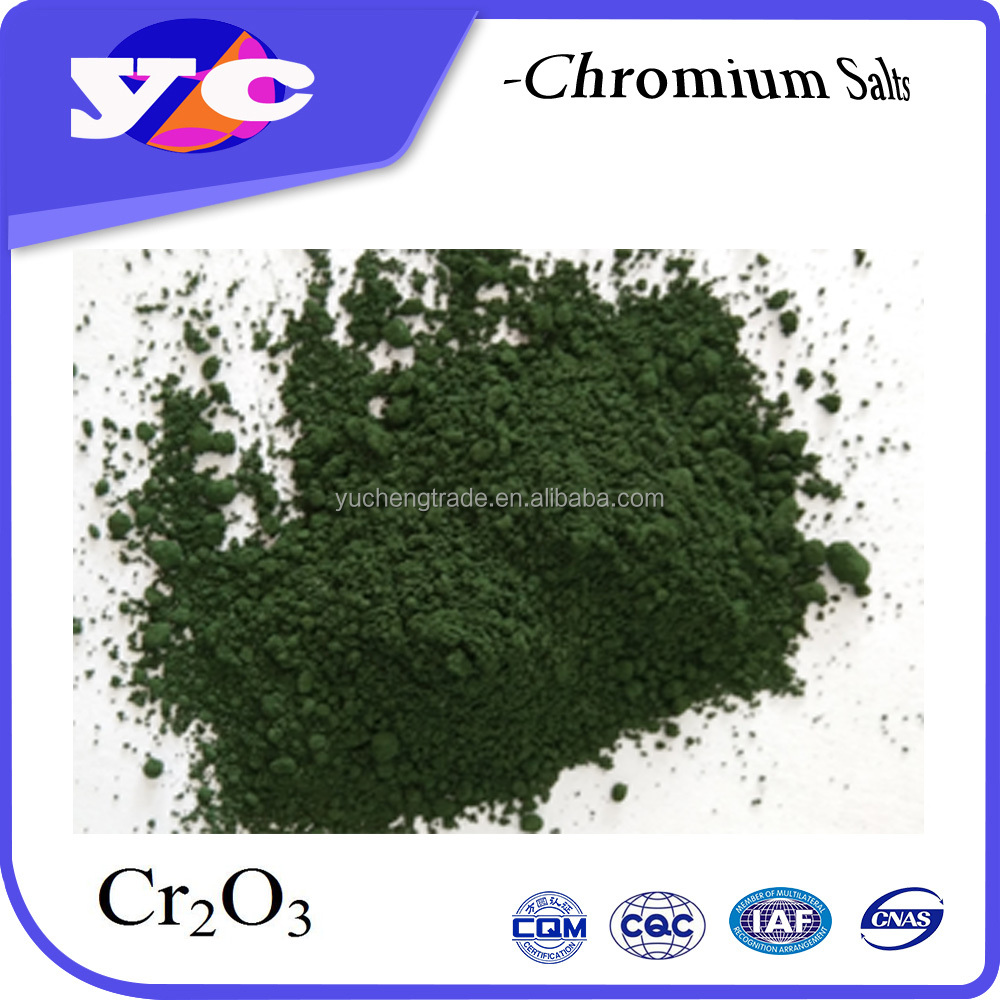 High Temperature Ceramic Tile Pigment Chrome Oxide Green Cr2O3 99%