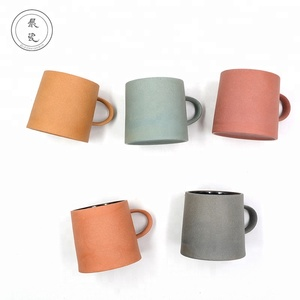 50ml 200ml 300ml modern style matt color ceramic coffee mugs