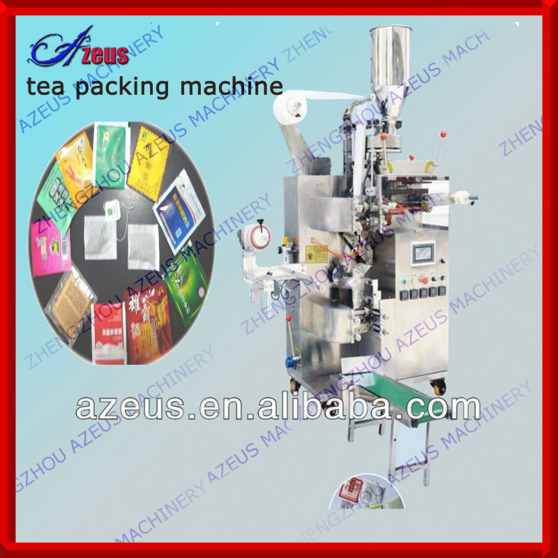 Azeus-T80 filter bag double chamber tea bag packing machine