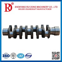 for sale factory price profession custom OEM:S1341-12281 iron auto spare parts crank shaft for HINO J05E