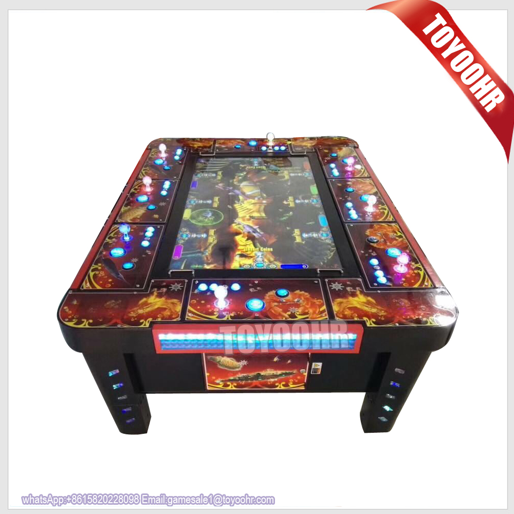 Hot sale casino slot fishing game Thunder Dragon video console arcade catch fish game