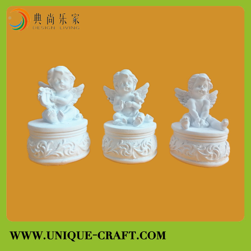 Figurine Product Type and Artificial Style Baby Resin Crafts