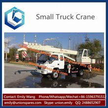 Best Quality 7 Ton Foton Hydraulic Construction Small Truck Crane