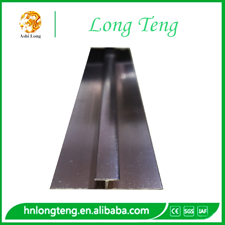 stainless steel H profile for pvc marble board decoration