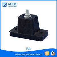 Rubber condenser Feet stand, air conditioner anti vibration rubber stand for HVAC system, RA air conditioning parts accessories
