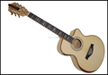yunzhi fully handmade solid maple wood acoustic guitar