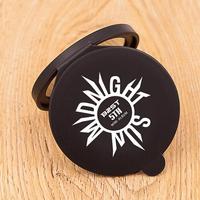 Makeup tools portable silicone travel mirror customized logo hand mirror