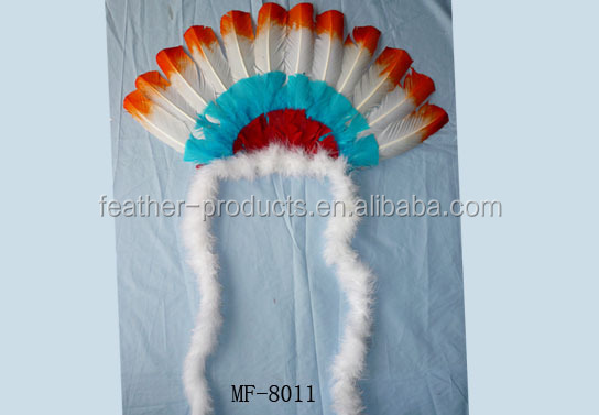 Beautiful feahter headgear for party - China manufacturer MF-8011
