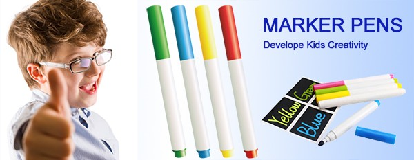 Low Odor PVC board water soluble wet erase markers