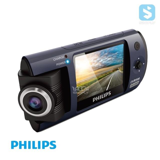 High quality original Philips full hd 1080p dash cam dual camera car camcorder android car mirror dvr