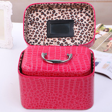 Personalized Hard Portable Aluminum Makeup Case Jewelry Box