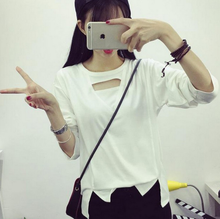 hot selling teen girl's tshirt,wholesale fancy girl t-shirt long sleeve wear, woman clothing