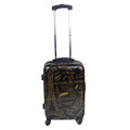 Eiffel Tower Pattern ABS PC Easy Carry On Luggage For Travel